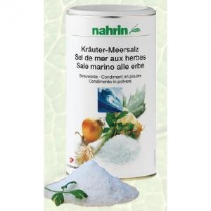 Морская соль с пряностями 400 гр. Nahrin